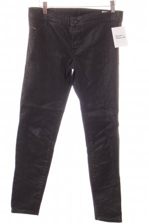 Diesel Jeggings schwarz Jeans-Optik