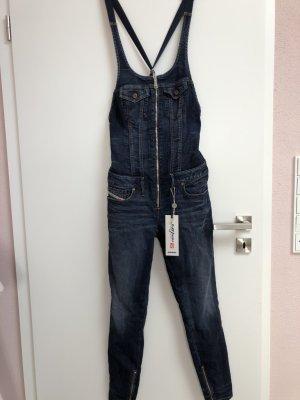 Diesel Jeans met bovenstuk donkerblauw