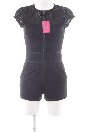 Diesel Jumpsuit schwarz-dunkelblau Casual-Look