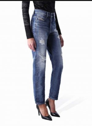 Diesel Kameron 90er Boyfriend Jeans ripped faded destroyed