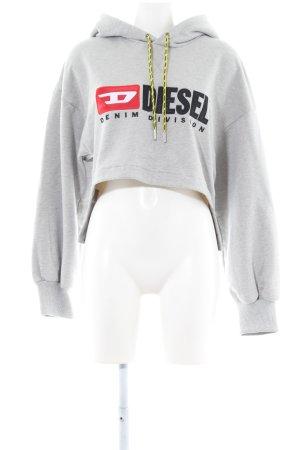 Diesel Kapuzensweatshirt Schriftzug gedruckt Casual-Look