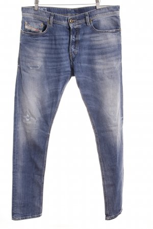 Diesel Carrot Jeans cornflower blue casual look