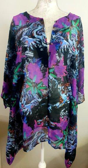 Diesel Strandkleding zwart-lila