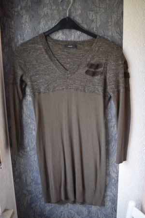 Diesel Kleid in Khaki