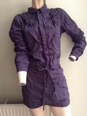 Diesel Kleid Lila XS - S Stillkleid Hemdkleid