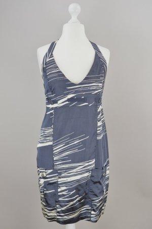 Diesel Kleid mit Muster grau Größe M
