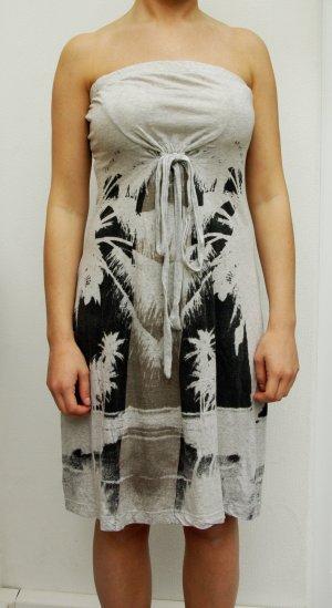 Diesel Kleid Original Trägerloses Kleid Bandeau Kleid knie langes Strand kleid mit Schleife