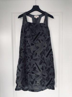 Diesel Halter Dress grey-black