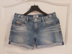 Diesel Shorts azure cotton