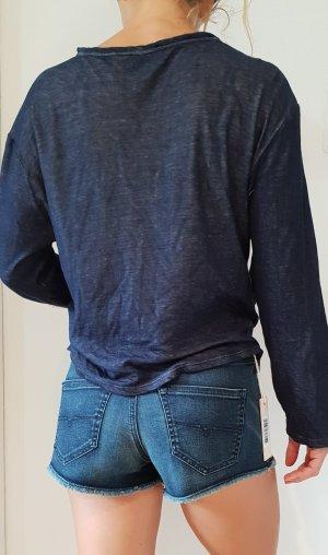 """DIESEL KURZE JEANS Hose """"SHORIS"""" hot pants high waist ibiza boho hippie biker"""
