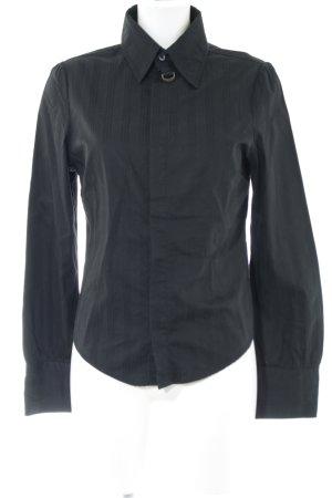 Diesel Camicia blusa nero Cotone