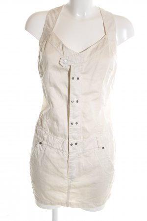 Diesel Pinafore Overall Skirt natural white casual look