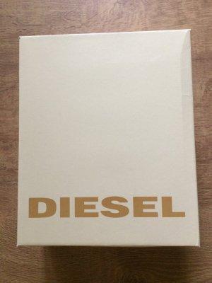 Diesel Leder Boots in braun