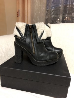 Diesel Platform Booties multicolored