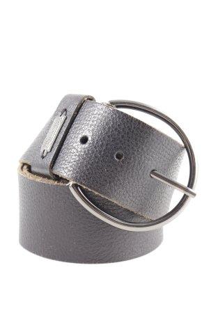 Diesel Ledergürtel schwarz Casual-Look