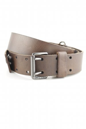 Diesel Leather Belt brown casual look