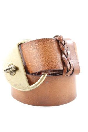Diesel Leather Belt brown hippie style
