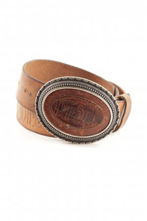 Diesel Leather Belt brown street-fashion look