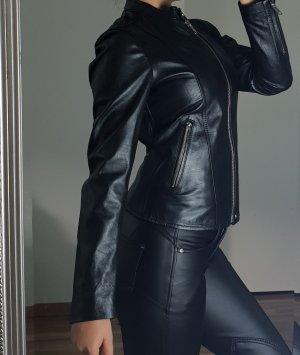 Diesel Leather Jacket black