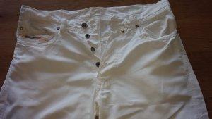 Diesel Leinen Jeans weiß Gr.36 / 30
