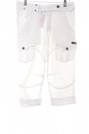 Diesel Linen Pants white casual look