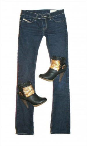 Diesel LIV Jeans W27 L36 Gr. 34/36 Colle Waschung