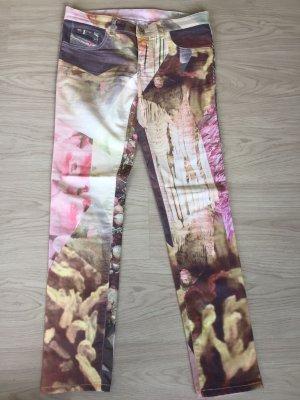 Diesel Livier - Skinny Jeans mit Print W30