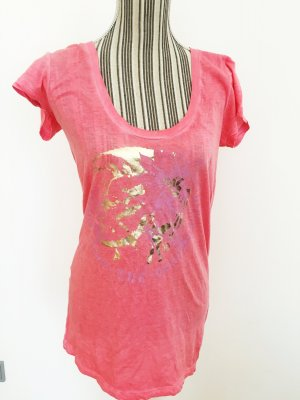 DIESEL Logo Shirt pink Gr. S