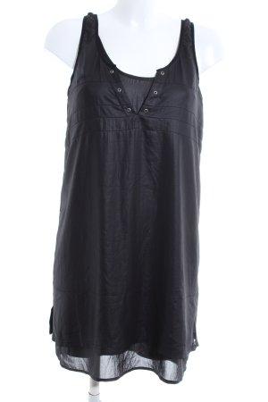 Diesel Longshirt schwarz Casual-Look