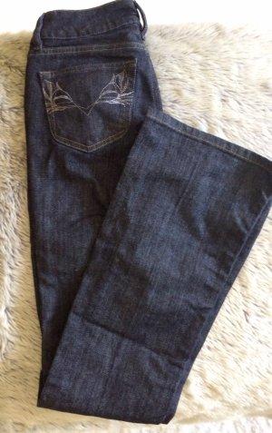 Diesel Louvboot Slim Jeans Dunkelblau Gr. 25/34 XS