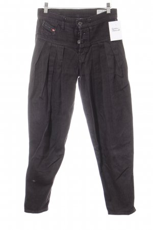"Diesel Jeans large ""Turque"" gris anthracite"