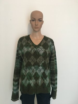 Diesel Knitted Sweater multicolored