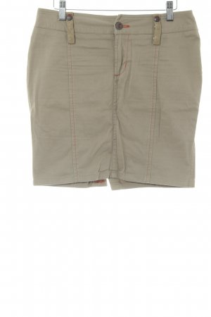 Diesel Minigonna color cammello stile safari