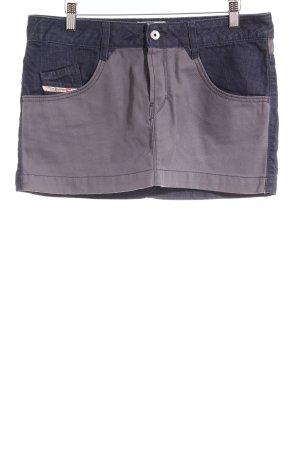 Diesel Minirock dunkelblau Street-Fashion-Look