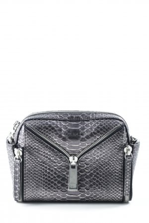 Diesel Mini Bag grey violet-silver-colored animal pattern animal print