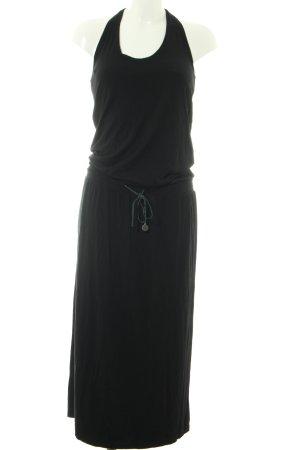 Diesel Neckholderkleid schwarz Elegant