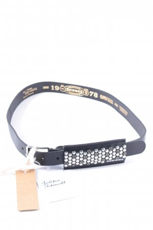 Diesel Studded Belt black biker look
