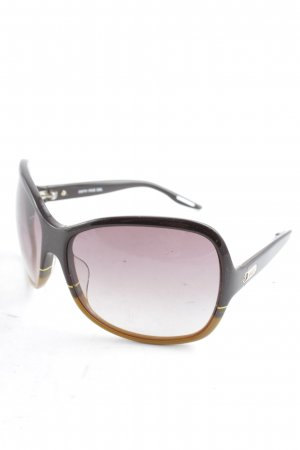 Diesel ovale Sonnenbrille abstraktes Muster Casual-Look