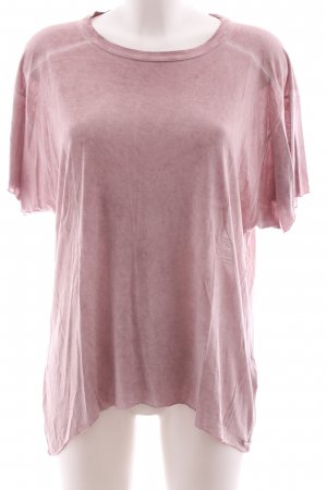 Diesel Oversized Shirt pink meliert Casual-Look