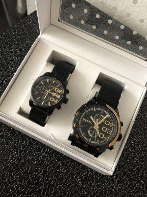 Diesel Partner set Uhren