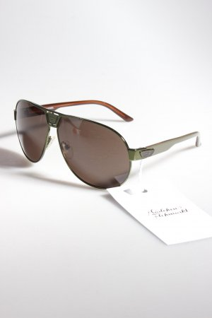 Diesel Aviator Sunglasses green