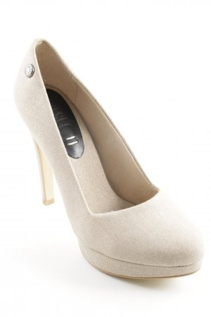 Diesel Plateau-Pumps beige Street-Fashion-Look
