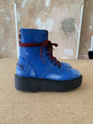 Diesel Platform Boots multicolored