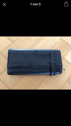 Diesel Portemonnaie schwarz