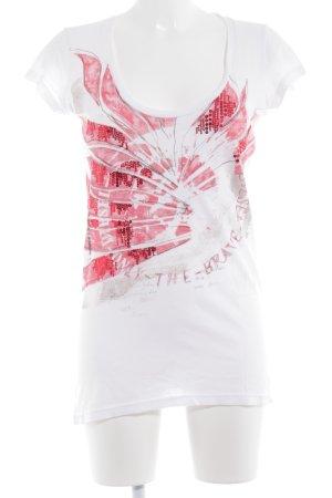 Diesel Print-Shirt mehrfarbig Casual-Look