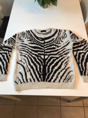 Diesel Pullover in Zebra Optik