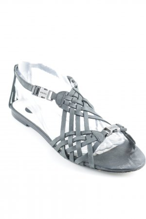 Diesel Strapped High-Heeled Sandals grey casual look