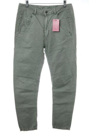 Diesel Drainpipe Trousers khaki casual look