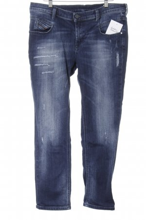 Diesel Tube Jeans blue distressed style