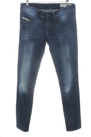 Diesel Tube Jeans dark blue jeans look